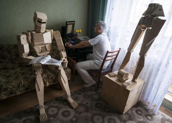 Первый украинский робот (13 фото)