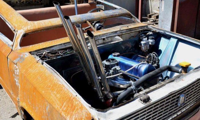 ВАЗ-2102 в стилистике авто из фильма «Безумный Макс» (8 фото)
