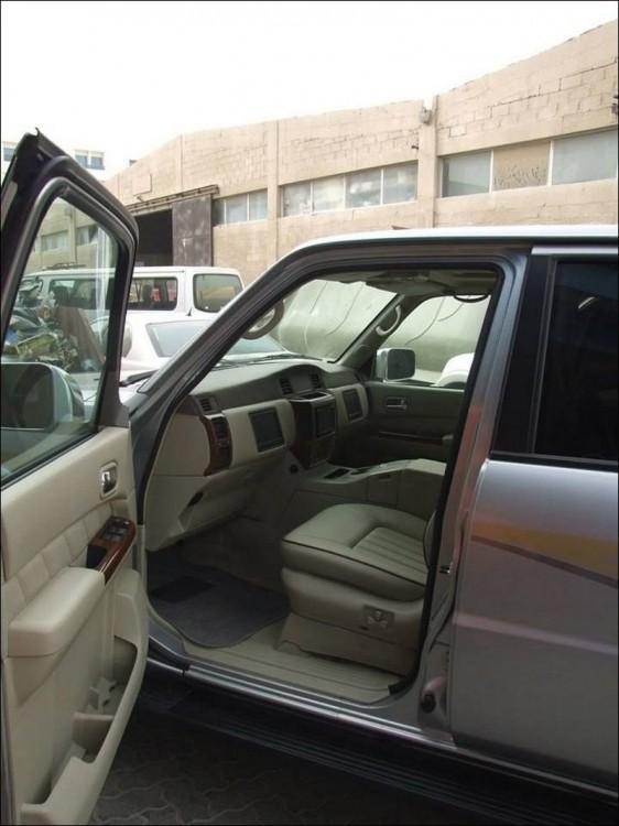 Арабский Nissan Patrol (6 фото)
