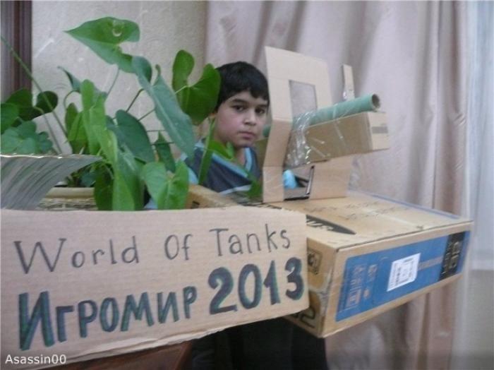 Конкурс на лучший костюм среди виртуальных танкистов (27 фото)