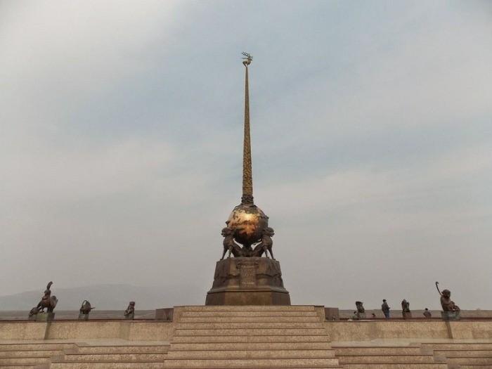 Россия или Китай: где же расположен географический центр Азии? (9 фото)