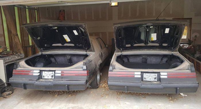 Пара автомобилей Buick Grand Nationals провела в гараже 30 лет (11 фото)