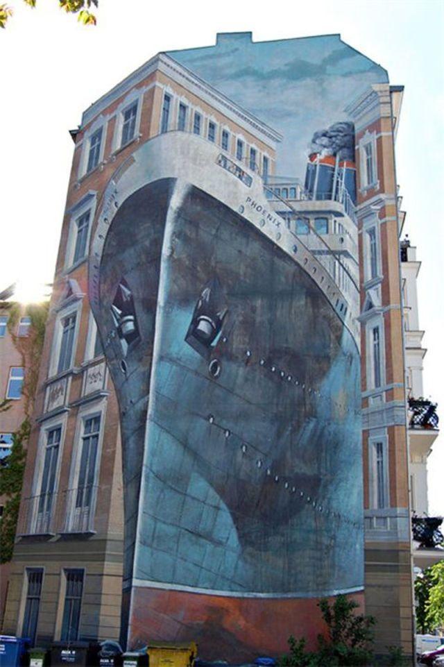 Креативные уличные рисунки (90 фото)