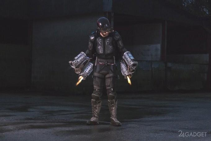 Испытан аналог костюма Железного человека (6 фото + видео)