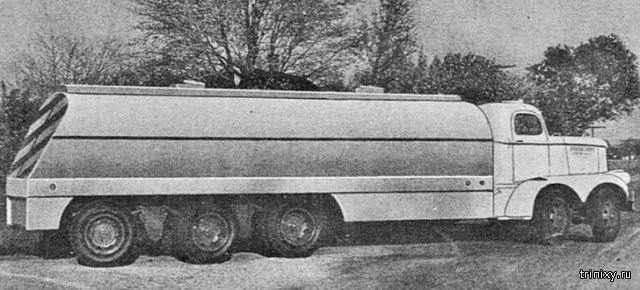 Уникальный двухмоторный грузовик Eisenhauer Freighter 1946 года (5 фото)