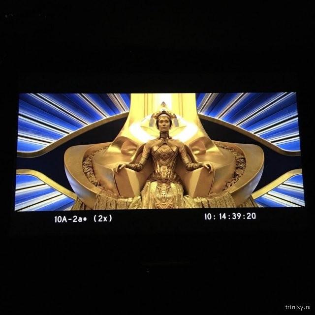 """Кадры со съемочной площадки """"Стражи Галактики. Часть 2"""" (18 фото)"""