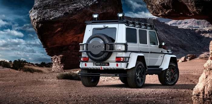 Новый фантастический внедорожник от Mercedes (12 фото)