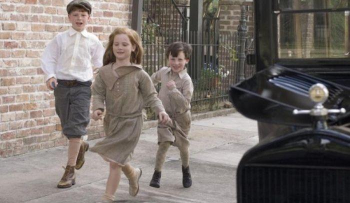 Съемка фильма «Загадочная история Бенджамина Баттона» (34 фото)