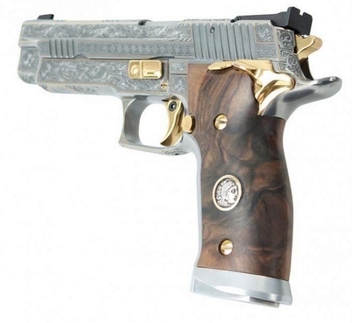 Удивительные пистолеты от SIG-Sauer (14 фото)