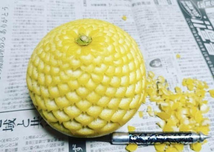 Карвинг - художественная резка овощей и фруктов (12 фото)