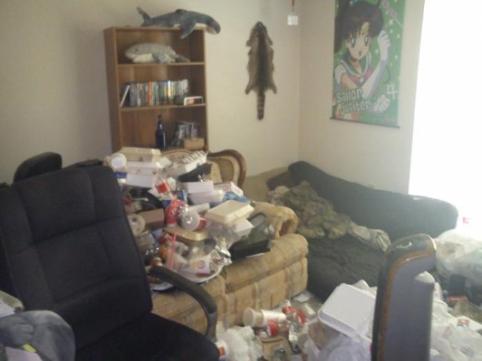 В квартире настоящего геймера (6 фото)