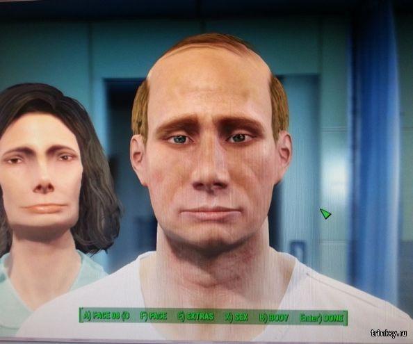 Знаменитости при помощи редактора персонажей из Fallout 4 (9 фото)