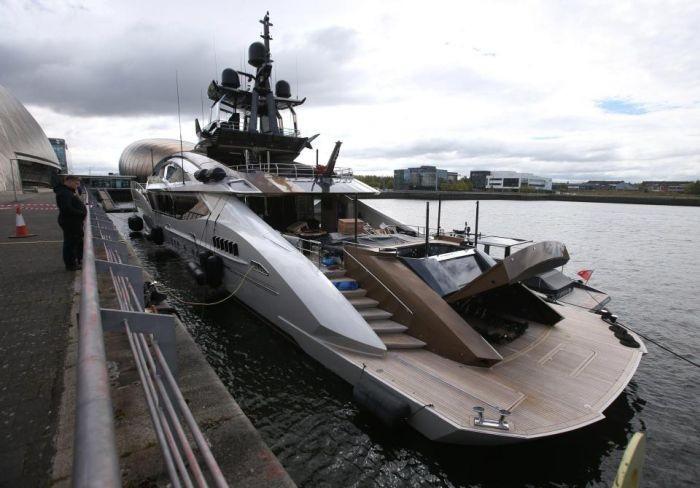 Яхта Lady M российского миллиардера Алексея Мордашова (8 фото)