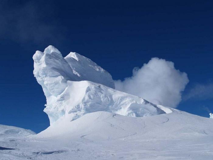 Где находиться гора ледяная