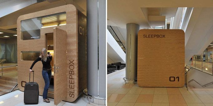Кабина для отдыха Sleepbox (18 фото)