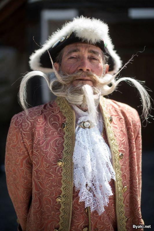 Конкурс бородачей и усачей во Франции (12 фото)