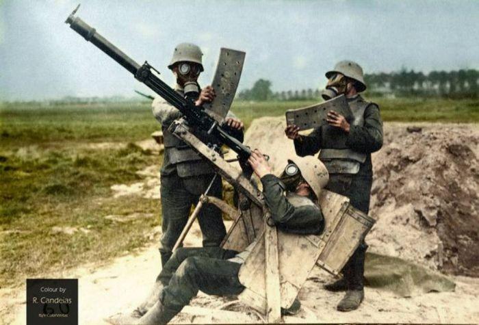 Оружие германской армии в Первой мировой войне (23 фото)