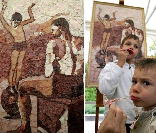 Мясные произведения искусства (12 фото)