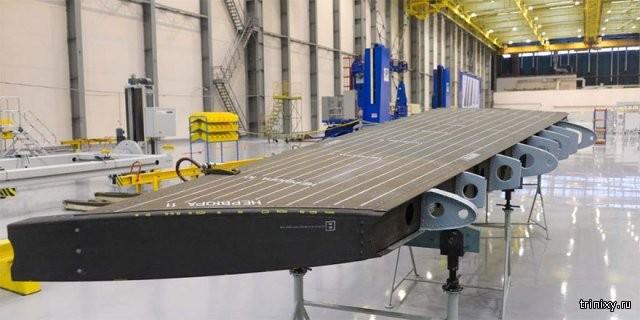 Новый самолет МС-21 почти готов к испытательному полёту (5 фото)