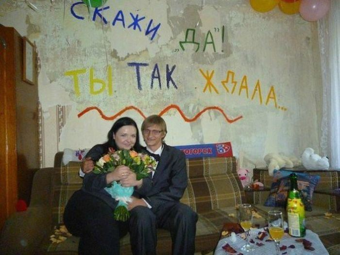 Жилье россиян, оставляющее желать лучшего (15 фото)