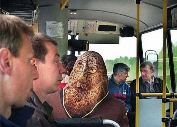 Юмор из общественного транспорта (20 фото)