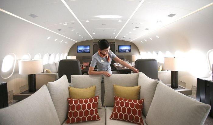 Самый большой в мире частный самолет