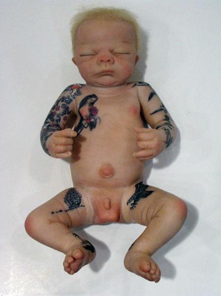 Татуированный ребенок (10 фото)