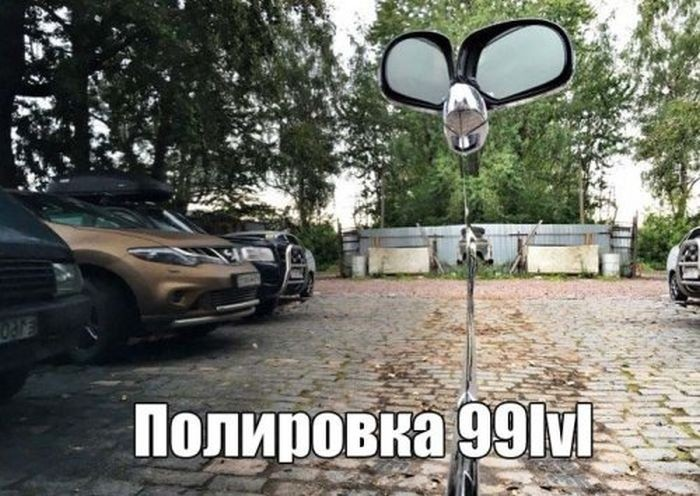 Свежие автоприколы (32 фото)