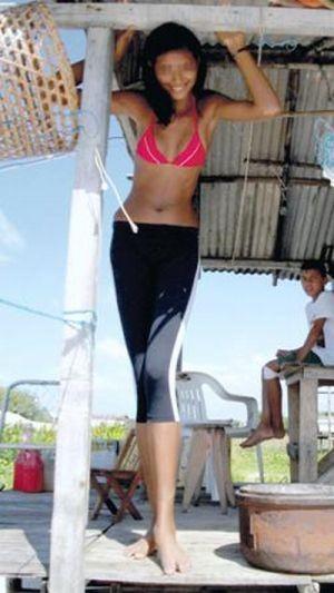 Самая высокая девушка-подросток в мире (7 фото)