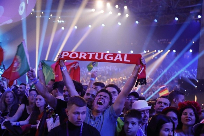 "Победителем ""Евровидение-2017"" стал Сальвадор Собрал из Португалии (3 фото)"
