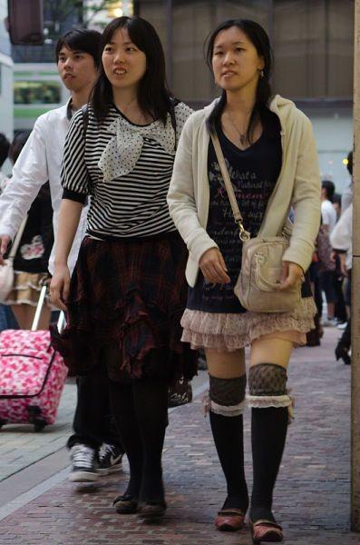 Японские модные женщины (56 фото)