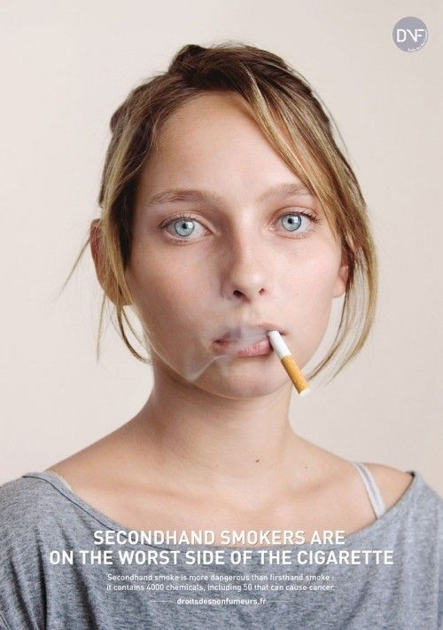 Антитабачная реклама (30 фото)