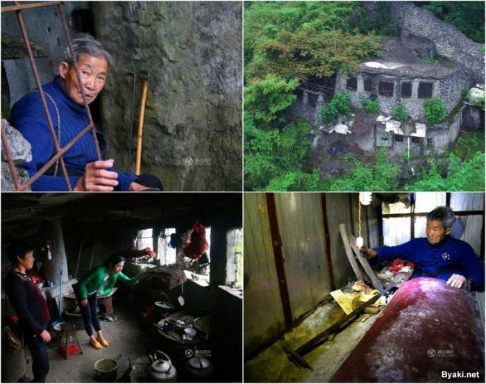 Старик построил себе мавзолей и теперь ожидает в нем смерти (10 фото)