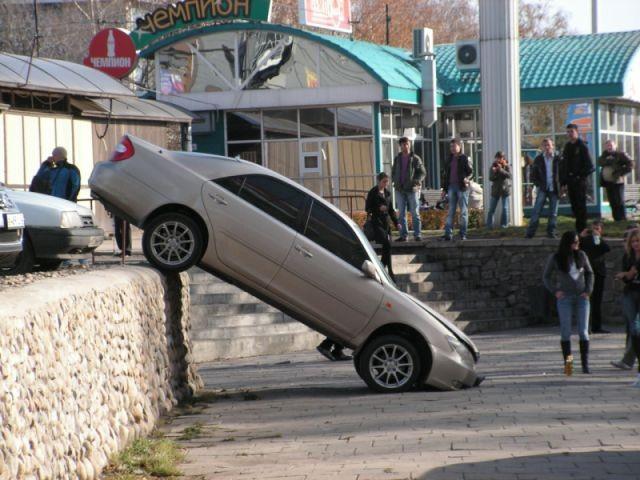 Плохая парковка (7 фото)
