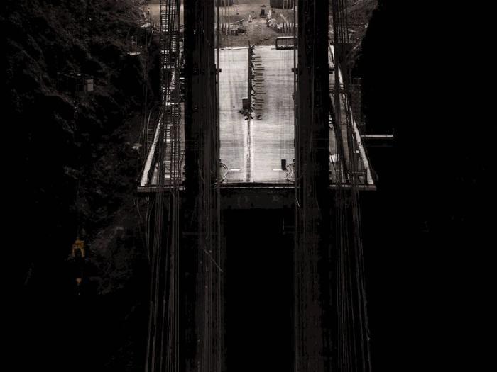 Мост через дамбу Гувера (36 фото)