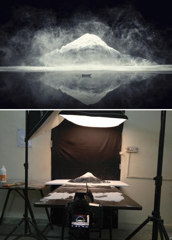 Впечатляющие снимки, сделанные с помощью макетов (9 фото)