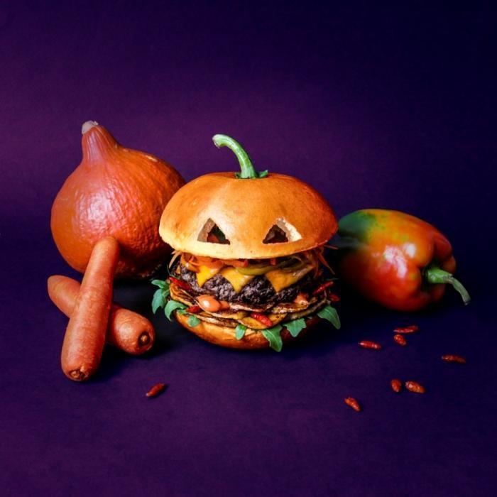 Устрашающие гамбургеры лучше, чем пугающие картинки (15 фото)