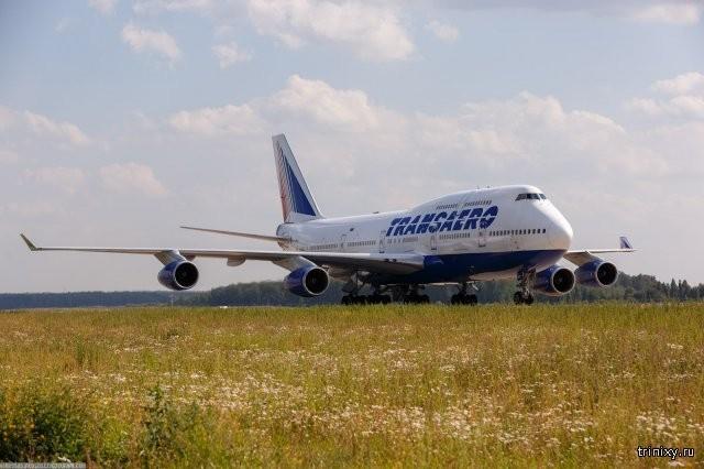 Зачем при посадке и взлете самолета отключают освещение? (5 фото)