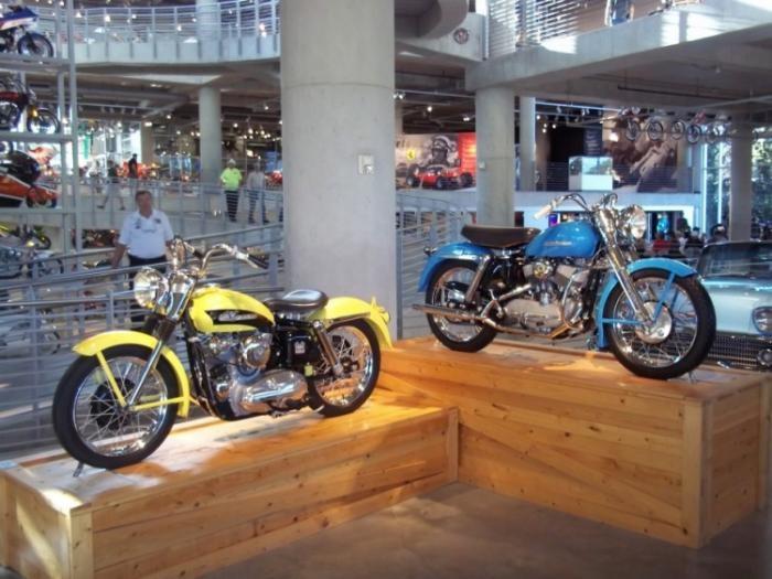 Музей мотоциклов Джорджа Барбера (89 фото)