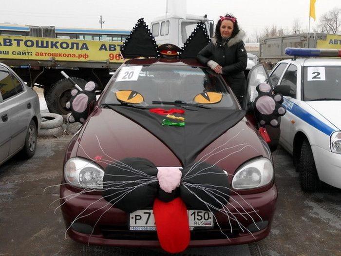 Автомобильные фотоприколы (35 фото)
