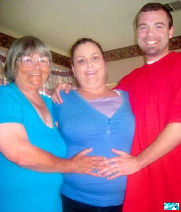 Молодой любовник 72-летней бабушки (3 фото)