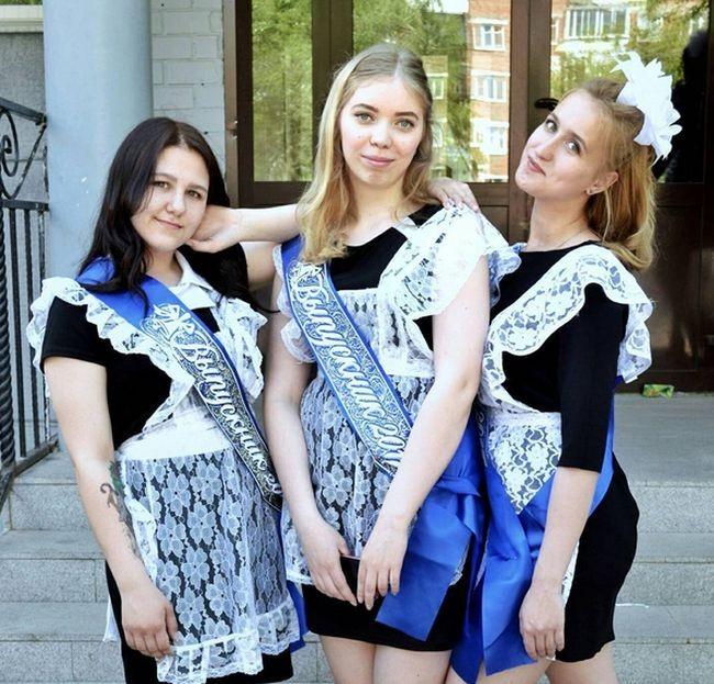 Выпускницы 2017 года (40 фото)