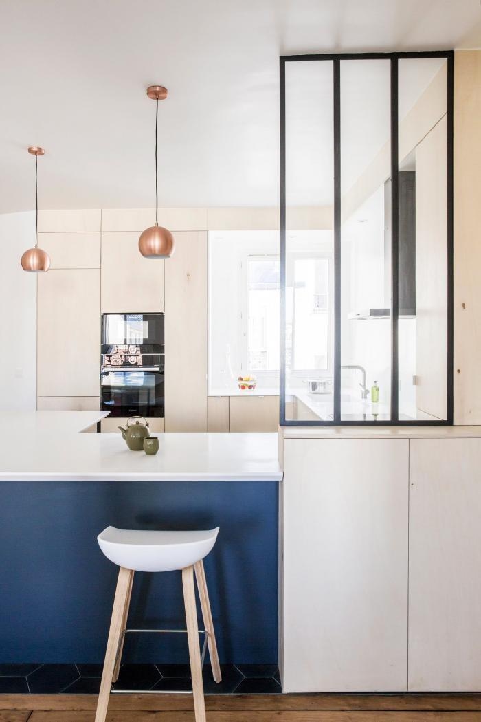 Интерьер парижской квартиры для большой семьи (15 фото)