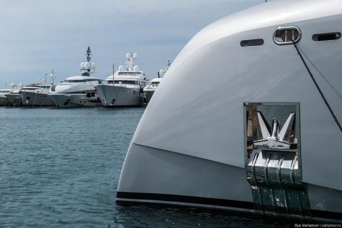 Шикарные яхты знаменитых гостей Каннского фестиваля (69 фото)
