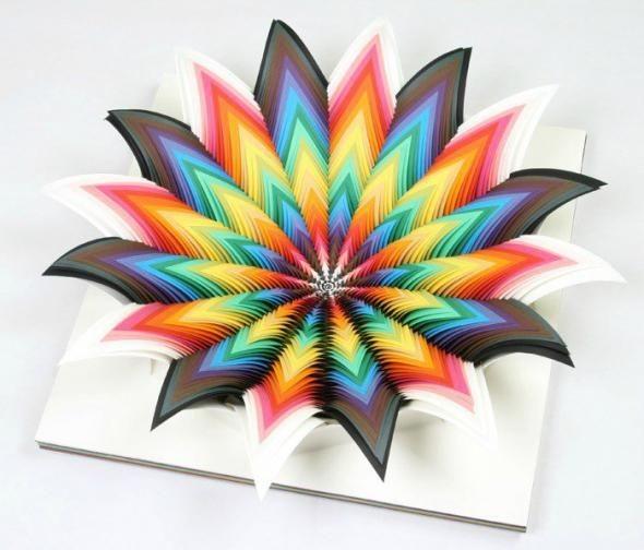 Бумажное искусство Jen Stark (13 фото)