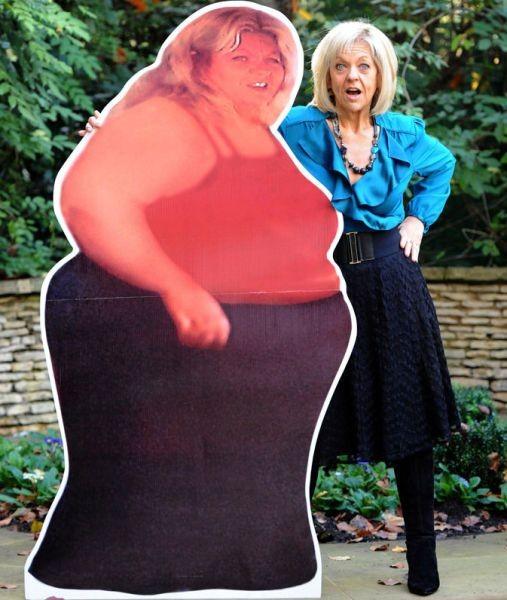 Она реально похудела (7 фото)