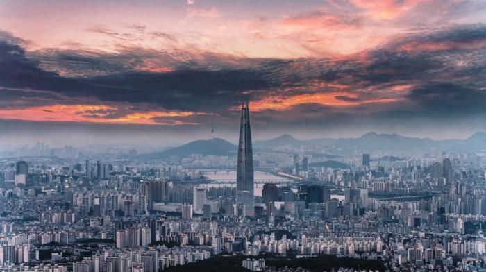 123-этажный небоскреб в Сеуле: взгляд изнутри (11 фото)