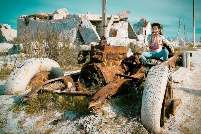 Вилья-Эпекуэн, «аргентинская Атлантида» (18 фото)