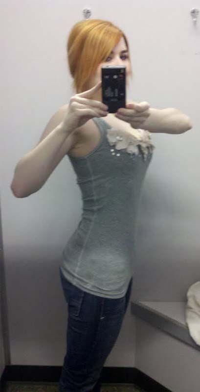 Девушка похудела (14 фото)