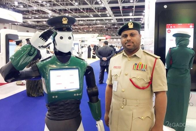 Робокопы заменят полицейских в Дубаях (6 фото)